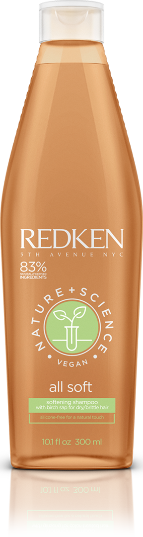 REDKEN Nature + Science All Soft Shampoo vegan 300 ml